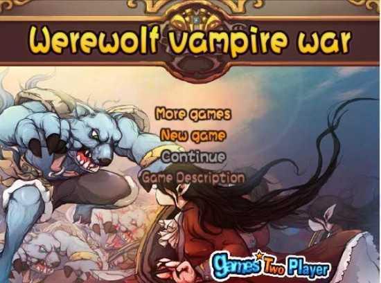 تحميل لعبة حرب التتار Werewolf Vampire War