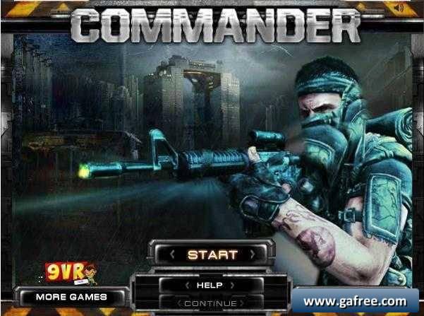 تحميل لعبة الجندي الشجاع Commander