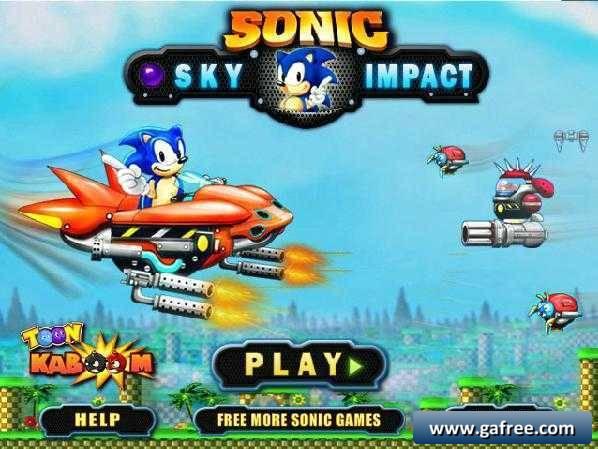 لعبة قتال سونيك Sonic Sky