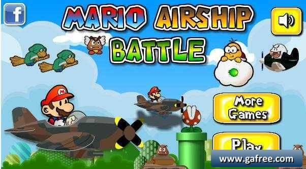 تحميل لعبة سوبر ماريو المحارب MarioAirShipBattle