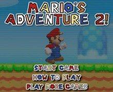 لعبة مغامرات ماريو Mario