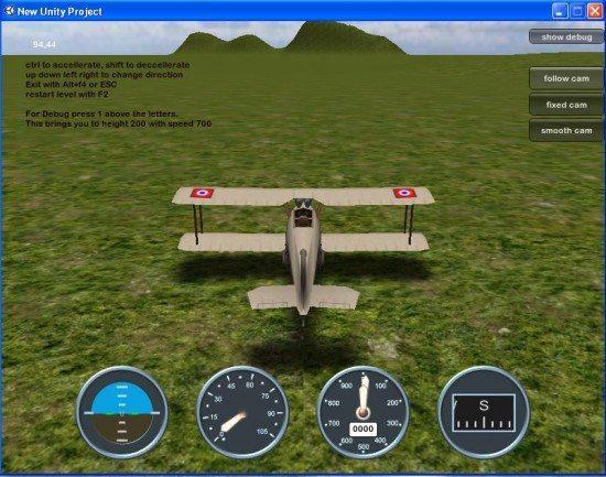 تحميل لعبة الطائرات المدنية Flightsimu