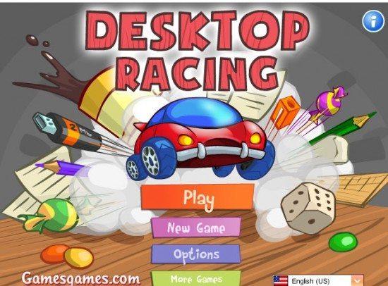 لعبة سيارة سطح المكتب DesktopRacing