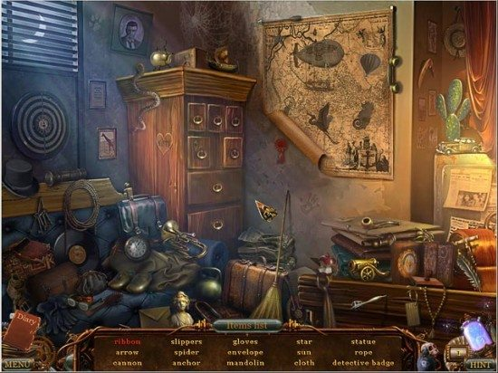 لعبة التحقيق في الجرائم Voodoo Chronicles