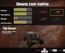 لعبة السيارات القتالية Wasteland Mayhem