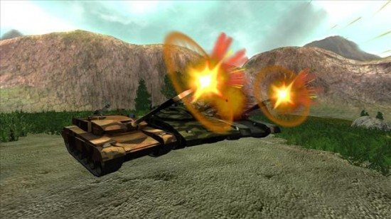 لعبة حرب الدبابات الحربية TANK@WAR
