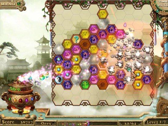 لعبة الكنوز المحظورة Ancient Gems