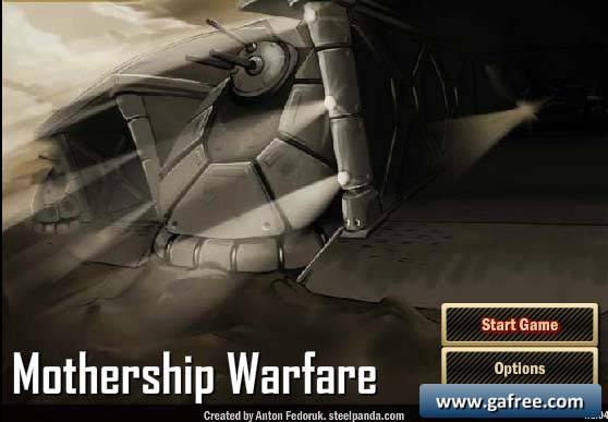 لعبة الحرب الاستراتيجية Mothership Warfare