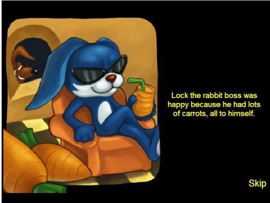 لعبة الارنب المجنون Crazy Rabbit
