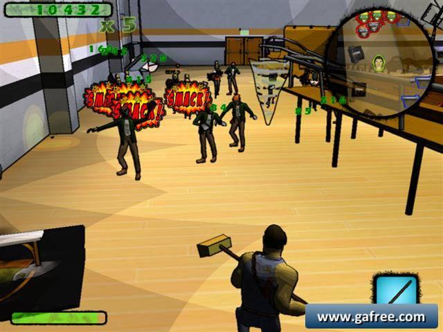 لعبة محارب زومبي Custodial Carnage