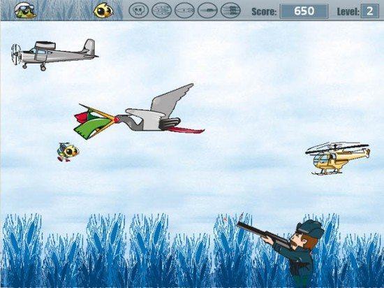 لعبة صيد البط Duck Riposte