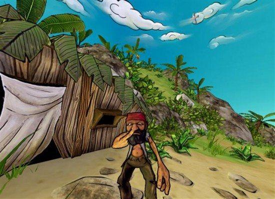 لعبة حرب القراصنة Cast Away