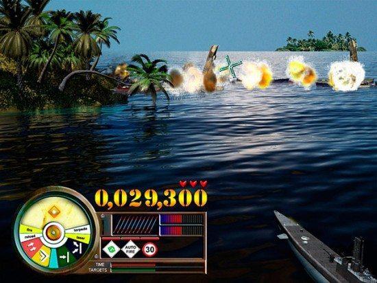 لعبة حرب الخليج Fire on the Water