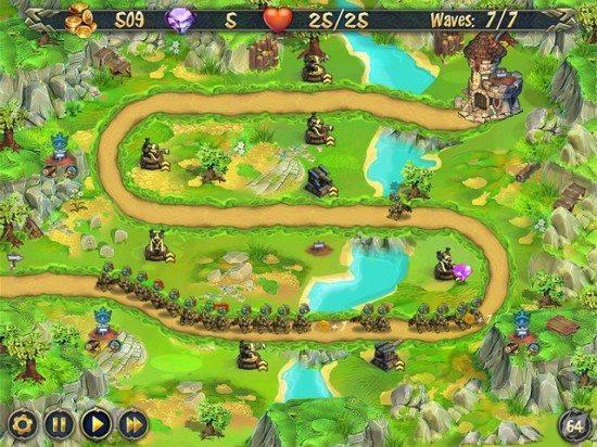 لعبة الدفاع عن المملكة Royal Defense