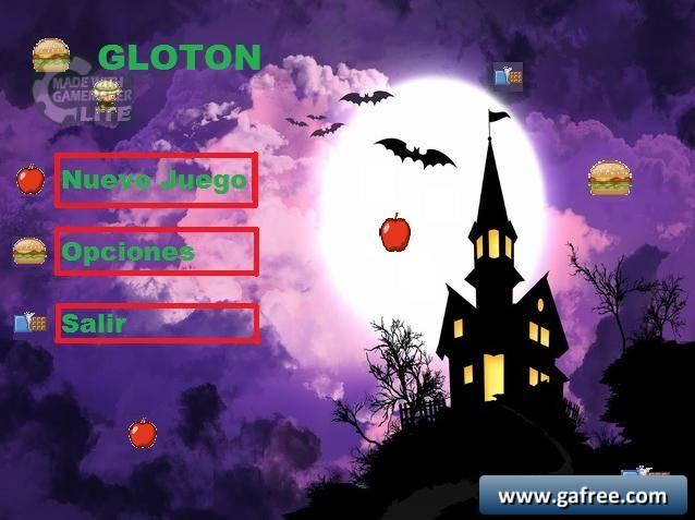 لعبة المغامرات الرائعة Gloton