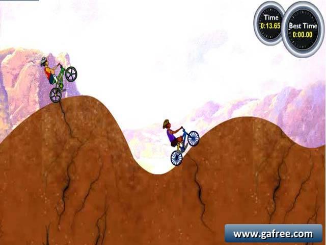لعبة الدراجات الهوائية BMX Adventures