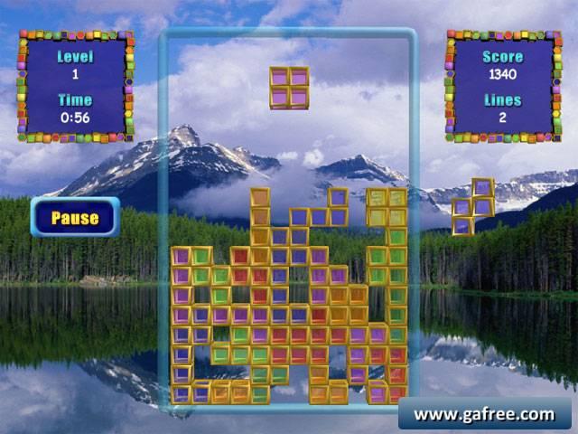 لعبة المربعات الملونة Color Cubes