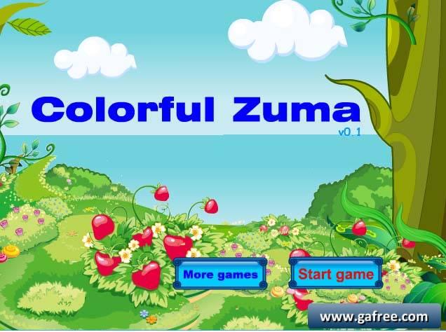 لعبة زوما Colorfu Zuma