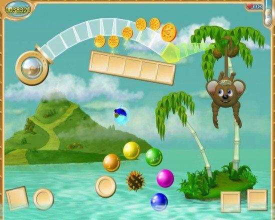 لعبة القرد والبالونات Tonky Ponky