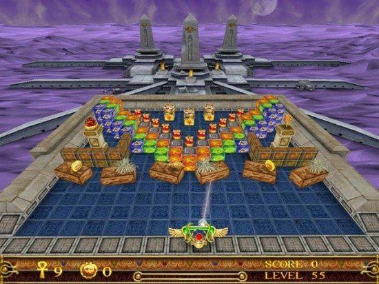 لعبة مصر القديمة Gem Ball
