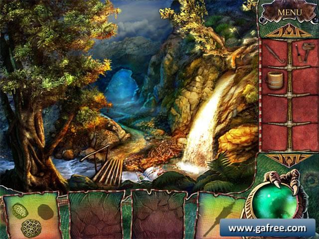 لعبة السحر و الشعوذة The Witchs Green Amulet