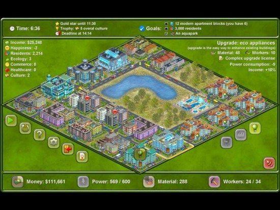 لعبة بناء المدينة Megapolis 420-550x412