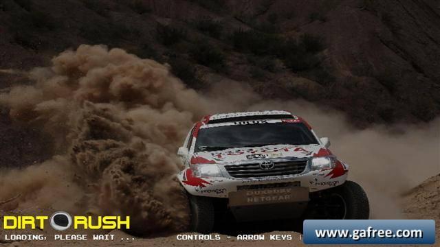 لعبة مهمات السيارات Dirt Rush