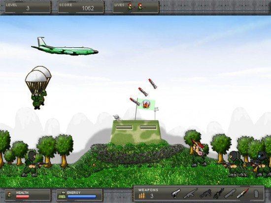 لعبة اسقاط الطائرات Air Invasion