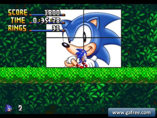 لعبة سونيك Sonic Mushroom Hill Zone
