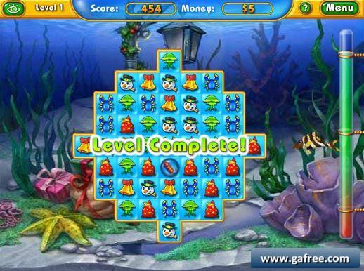 لعبة مزرعة الاسماك Fishdom Frosty Splash