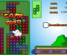 لعبة تيتريس Mario Tetris 3
