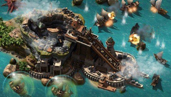 لعبة اعصار القراصنة