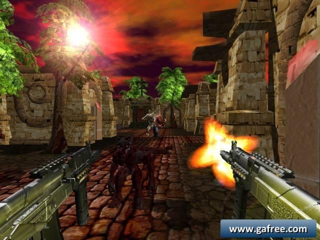 لعبة مقبرة الوحوش Cemetery Warrior 2