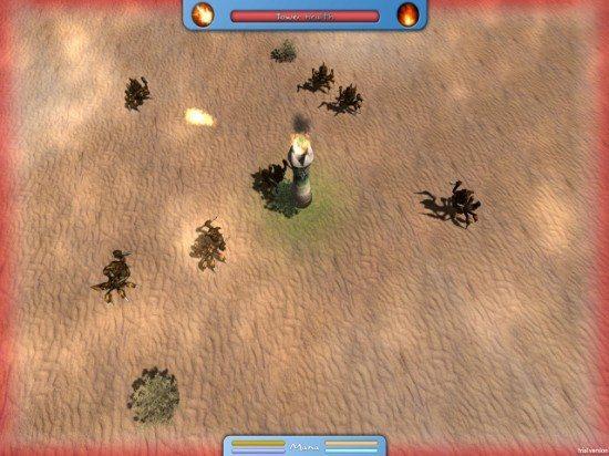لعبة القتال في الصحراء Magic Defence
