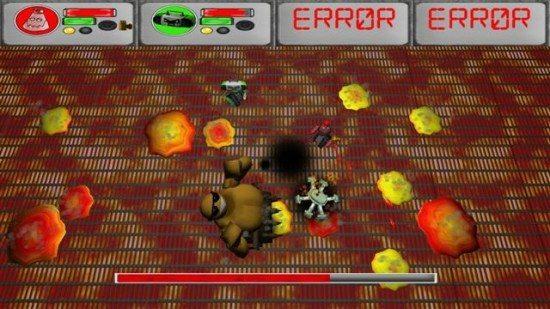 لعبة حرب الروبوتات ERR0R