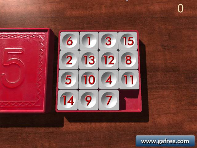 لعبة ذكاء بازل Soviet Puzzle 15