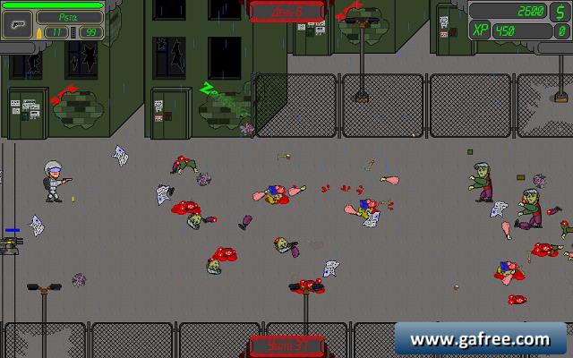 لعبة هجوم الزومبي Zombie Day