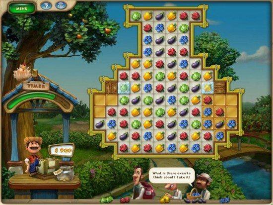 لعبة بناء المزرعة Farmscapes