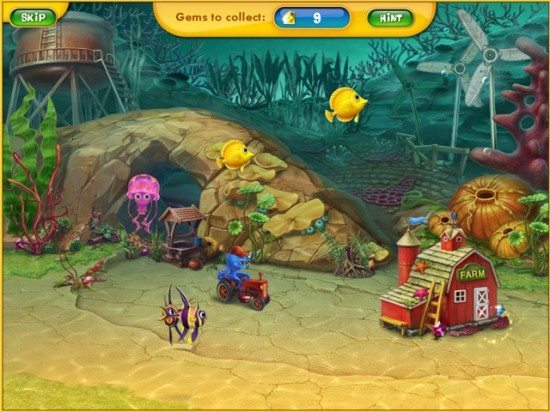 Play fishdom game online