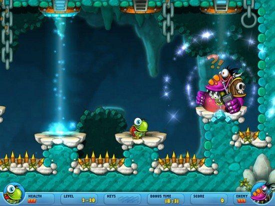 لعبة المغامرات والمخاطر Turtix Adventures