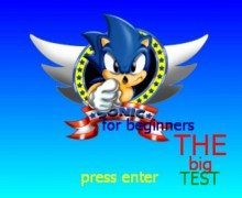 تحميل لعبة سوبر سونيك Sonic for Beginners Collection