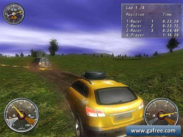 لعبة سباق سيارات الدفع الرباعي Extreme 4x4 Racing