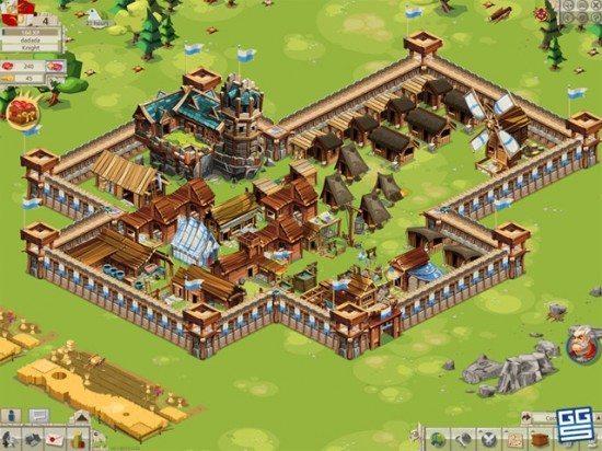 لعبة بناء الامبراطورية Goodgame Empire