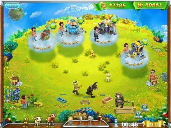 لعبة مزرعة العائلة Snow Globe