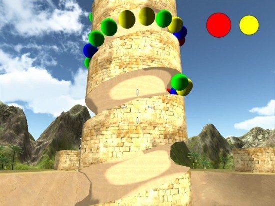 لعبة زوما Tower of Zooma