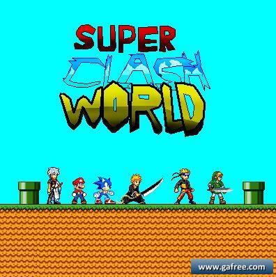 لعبة سوبر ماريو Super Clash