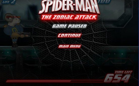 لعبة سبايدر مان Spider Man Attack