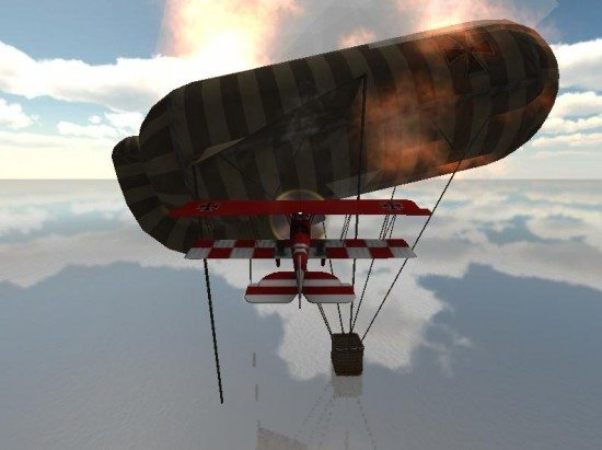 لعبة الطائرة الحربية Birds Of War