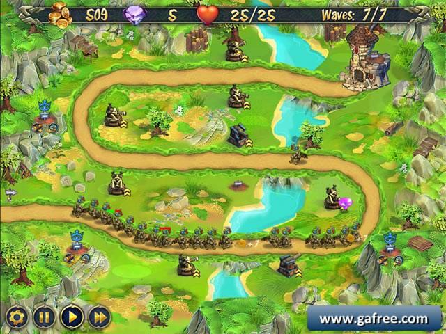 لعبة الدفاع عن القلعة Royal Defence