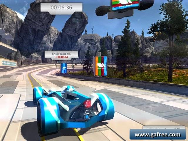 لعبة السباق السريع De/Ascend